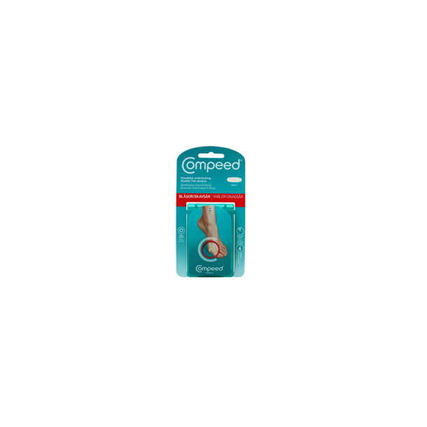 Compeed vabel plaster small, 6 stk
