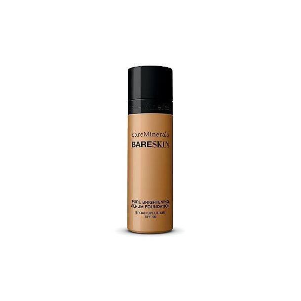 Bare Skin Pure Brightening Foundation Serum SPF 20 Bare Caramel 14, bareMinerals