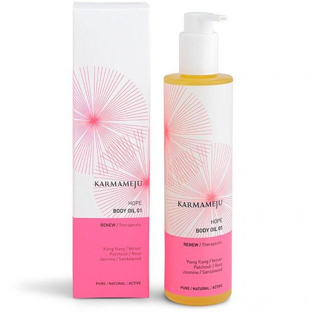 100% Body oil, Hope 01 200 ml (Karmameju)