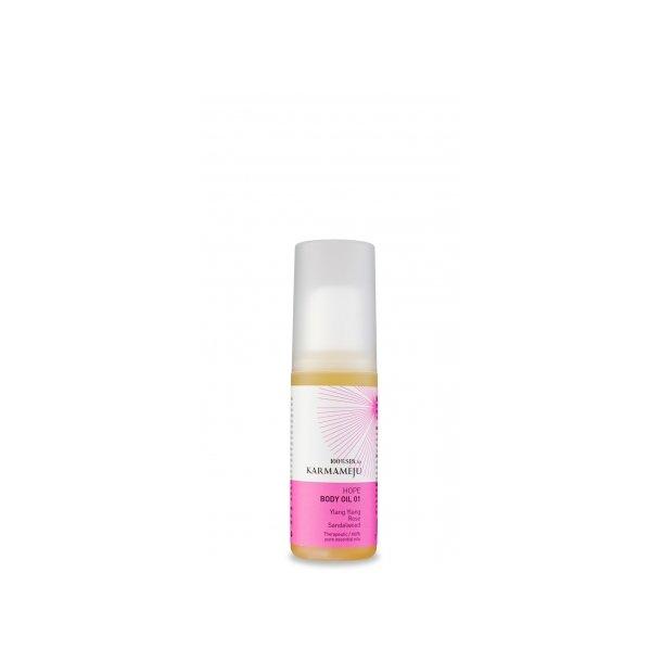 100% Body oil, Hope 01 50 ml (Karmameju)