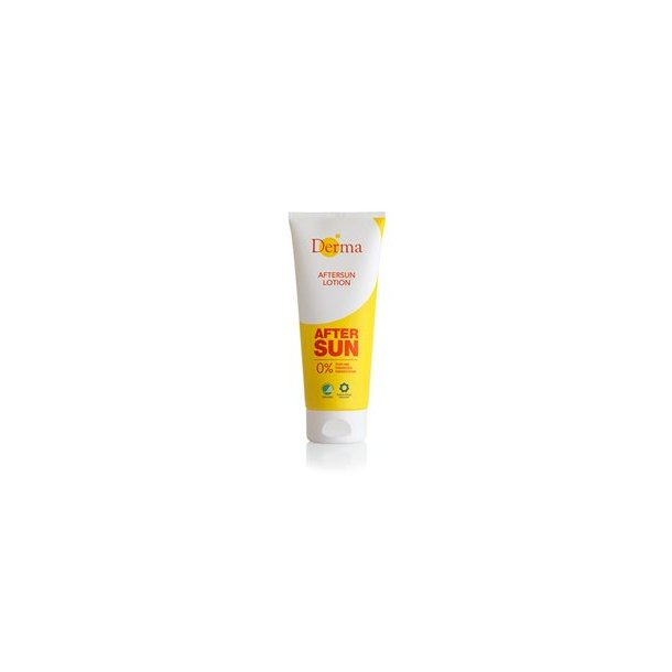 After sun lotion, Derma