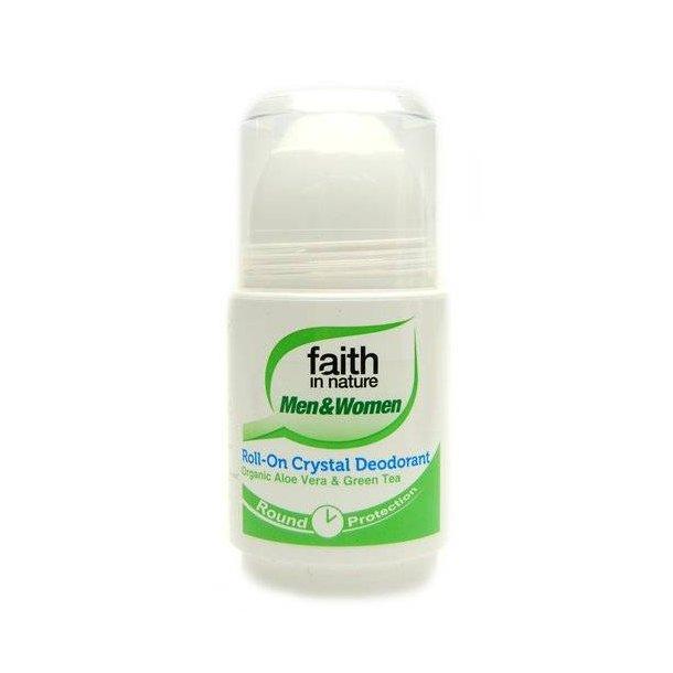 Krystal deodorant Faith in Nature m. Aloe Vera & Green Tea