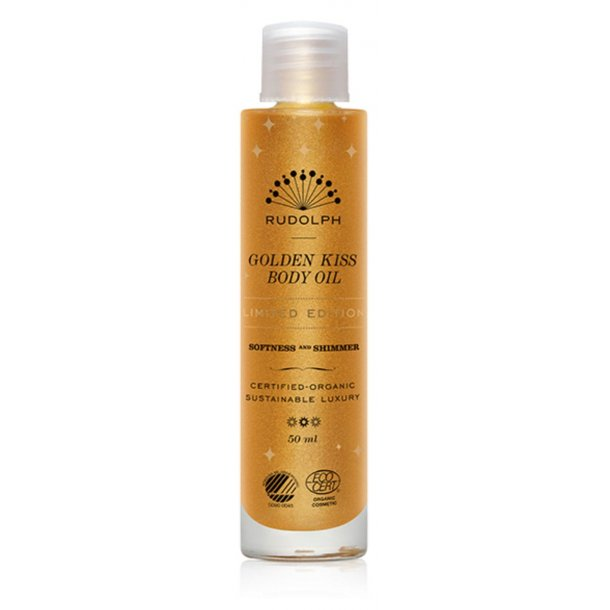 Golden Kiss Body Oil limited edition, Rudolph Care