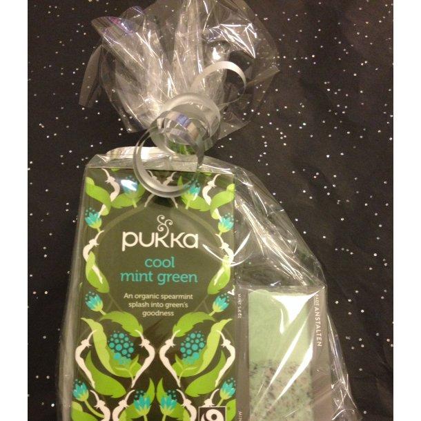 Værtindegave med Pukka te og håndsæbe