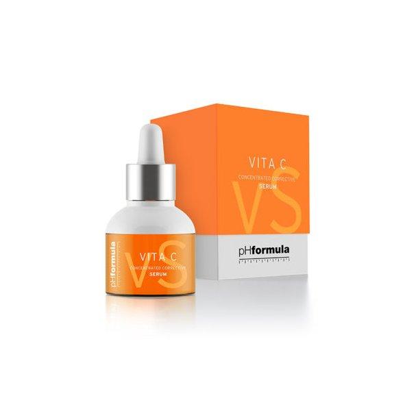 Vita C serum, pH formula